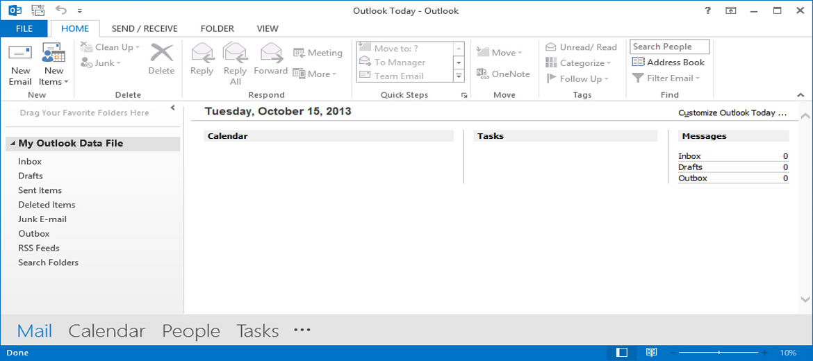 How to configure Outlook 2013 using POP3 (Exchange 2010)